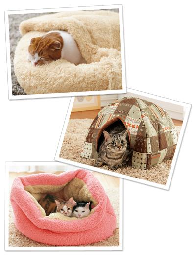 冬におすすめの暖かいふわふわもこもこベッド