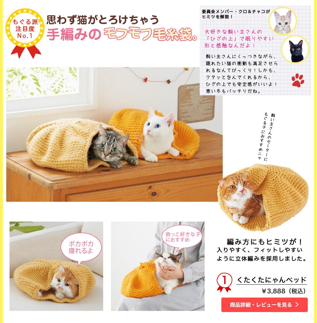 猫が喜ぶヒミツが隠れた新作&注目ベッド