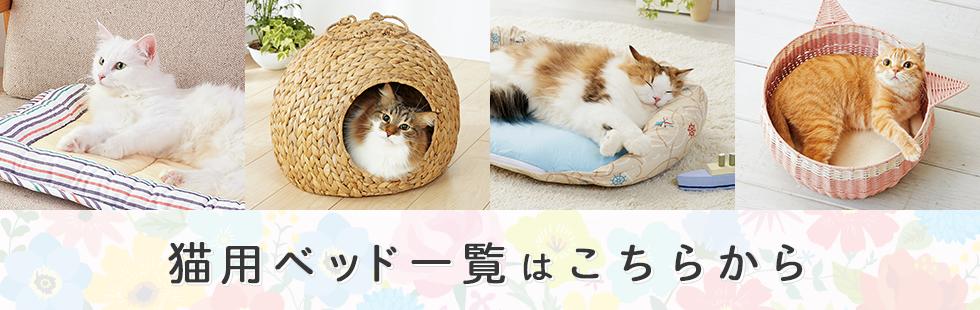 猫用ベッド一覧はこちらから
