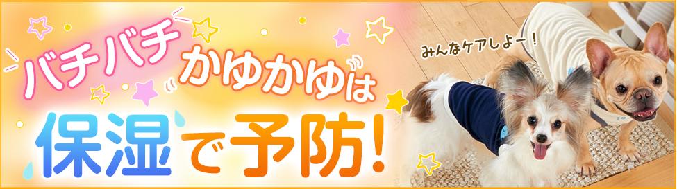 愛犬の静電気予防・肉球ケア特集