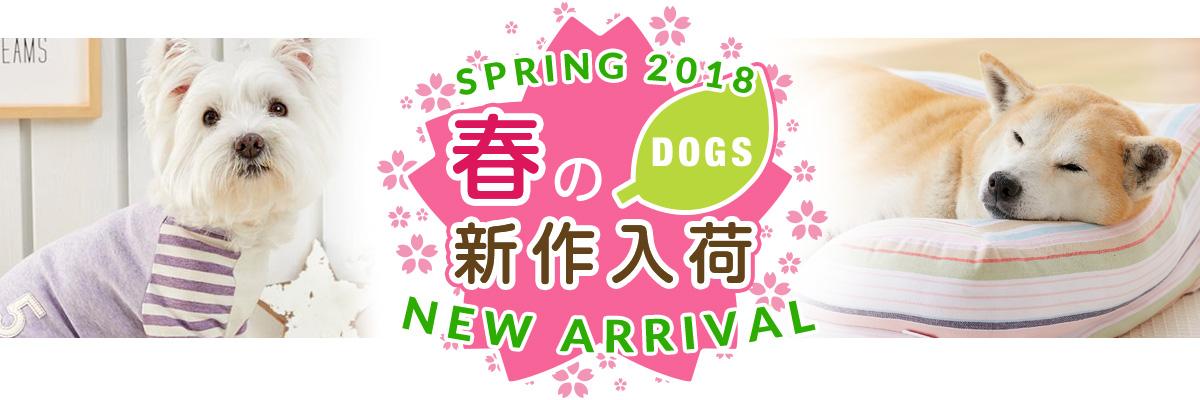 わんちゃん春の新商品