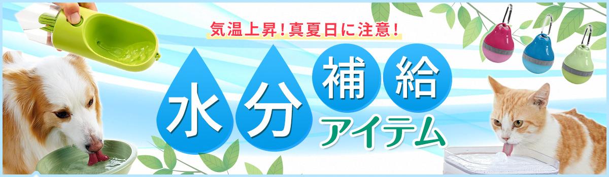 水分補給アイテム