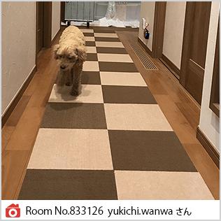Room No.833126 yukichi.wanwaさん