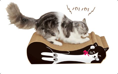 ごろん猫の爪とぎ