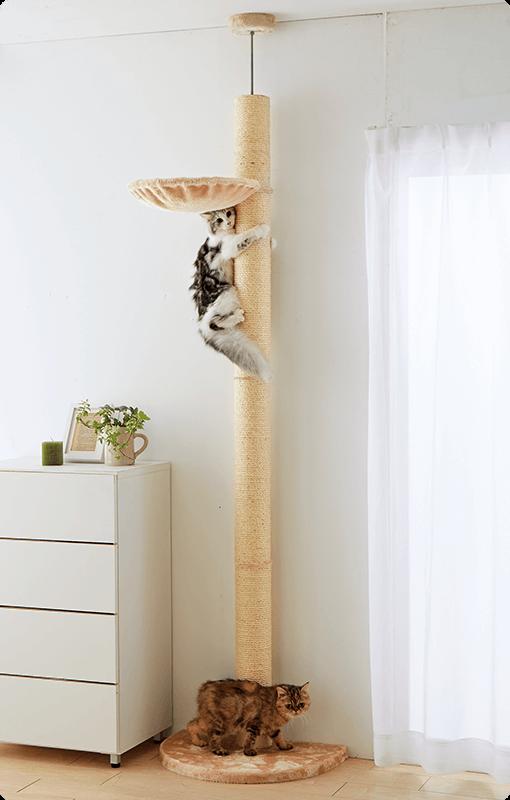 おうちで木登りタワー (突っ張り型)