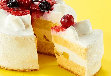 コミフ豆乳クリームのクリスマスケーキ