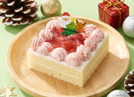コミフやさしいスイーツネコクリスマスケーキ