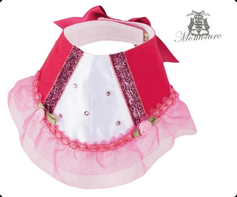 おめかしウェアハーネス ピンクドレス