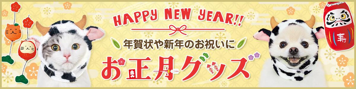 年賀状や新年のお祝いに!うちの子とお正月を楽しく過ごせるコスプレウェアや雑貨、おもちゃなど集めました♪