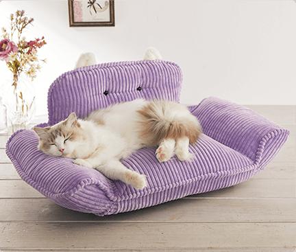 ねこみみリクライニングソファ