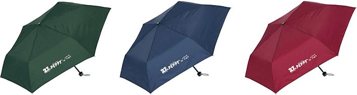 27周年オリジナルロゴが入った折りたたみ傘