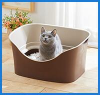 おすすめ3位 らくらく猫トイレ Wブロック