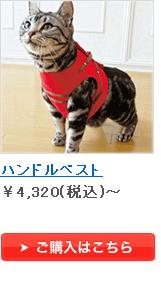 ハンドルベスト ¥4,200(税込)~