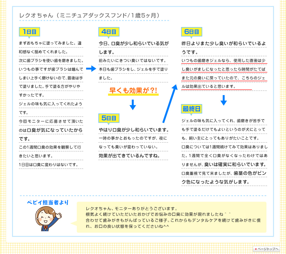 レクオちゃん(ミニチュアダックスフンド/1歳5ヶ月)