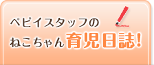 ペピイスタッフのねこちゃん育児日誌!