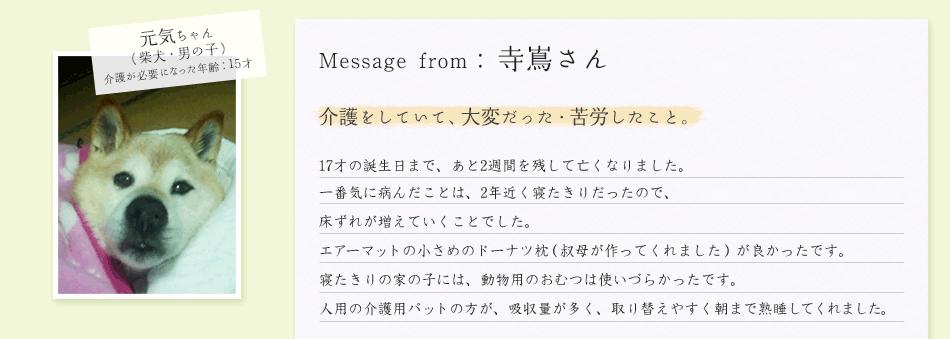 寺嶌さん/元気ちゃん