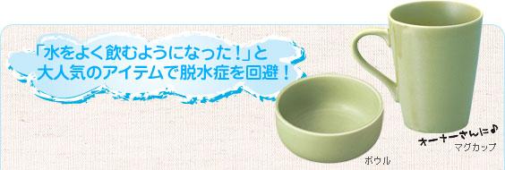 「水をよく飲むようになった!」と大人気のアイテムで脱水症を回避!