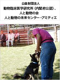 公益財団法人動物臨床医学研究所(内閣府公認)、人と動物の会 人と動物の未来センター・アミティエ