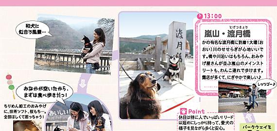 13:00 嵐山・渡月橋