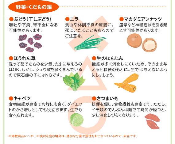 野菜・くだもの編