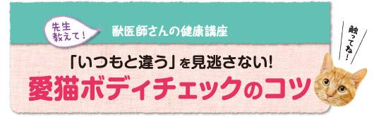 獣医師さんの健康講座 春夏編