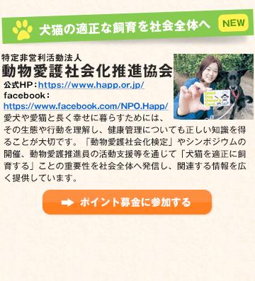 犬猫の適正な飼育を社会全体へ 特定非営利活動法人