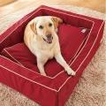 スクエアカドラー+クッション・ナイロン (犬 ベッド セット 小型犬 中型犬 大型犬)
