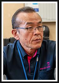 センター長の飯田明広さん
