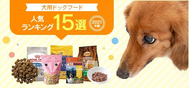 【2021年版】犬用ドッグフードのおすすめ人気ランキング15選(サイズ・年齢別)