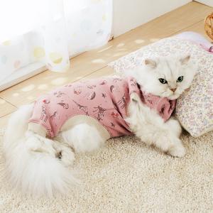 キャットパジャマ アニマル ピンク・S【ペット用品】(ペット用品猫その他)ペット用品  ペットグッズ  ペットフード  ペット  ペピイ  PEPPY  猫用ウェア  猫用/【犬・猫の総合情報サイト『PEPPY(ペピイ)』公式通販】
