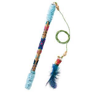 釣り竿羽おもちゃ