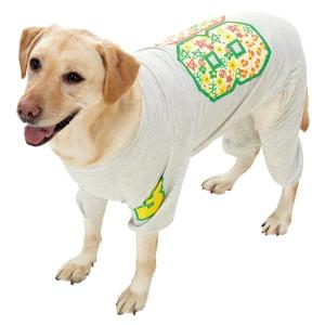 カジュアルプリントスウェット (犬 小型犬 中型犬 大型犬 ウェア 洋服 服) フラワー・9号(約・着丈62x首回り52xバスト78cm)【ペット用品】(ペット用品犬服)ペット用品  ペットグッズ  ペットフード  ペット  ペピイ  PEPPY  ウェア  犬用/【犬・猫の総合情報サイト『PEPPY(ペピイ)』公式通販】