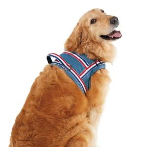ソフトショルダーハーネス 裏地ボア (犬 胴輪 中型犬 大型犬)
