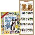 月めくりカレンダー2019犬