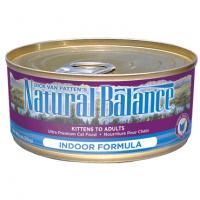 ナチュラルバランス キャットウェットフード缶 インドア