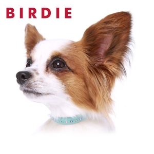 BIRDIE(バーディ) パールビーズレザーカラー (犬 猫 首輪 小型犬) ピンク・約・首回り21-25x幅0.9cm【ペット用品】(ペット用品犬首輪)ペット用品  ペットグッズ  ペットフード  ペット  ペピイ  PEPPY  犬用首輪  犬用/【犬・猫の総合情報サイト『PEPPY(ペピイ)』公式通販】