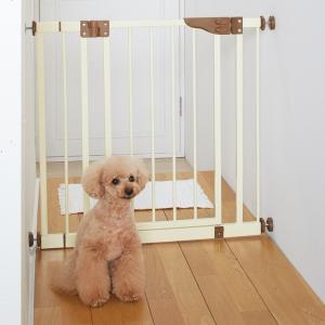 セーフティーゲイト ブラウン【ペット用品】(ペット用品犬ゲート)ペット用品  ペットグッズ  ペットフード  ペット  ペピイ  PEPPY  ペットドア  ゲート  犬用/【犬・猫の総合情報サイト『PEPPY(ペピイ)』公式通販】