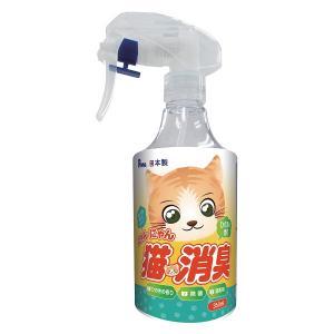 にゃんにゃん猫消臭 ひのきの香り つけ替え用350ml