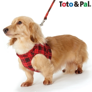 Toto & Pal(トトパル) ロイヤルタータンチェックボディハーネス ネイビー・約・胴回り36-38cm【ペット用品】(ペット用品犬ハーネス)ペット用品  ペットグッズ  ペットフード  ペット  ペピイ  PEPPY  ハーネス  犬用/【犬・猫の総合情報サイト『PEPPY(ペピイ)』公式通販】