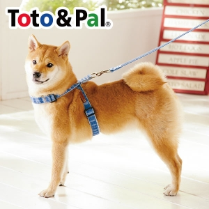 Toto & Pal(トト&パル) デニムリード (犬用リード) レッド・約・長さ110x幅2.0cm【ペット用品】(ペット用品犬ハーネスリード)ペット用品  ペットグッズ  ペットフード  ペット  ペピイ  PEPPY  リード  犬用/【犬・猫の総合情報サイト『PEPPY(ペピイ)』公式通販】