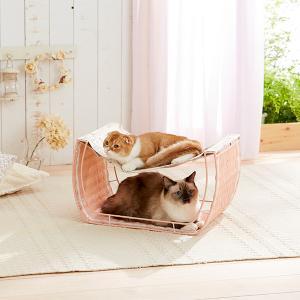 ゆらゆらハンモック【ペット用品】(ペット用品猫その他)ペット用品  ペットグッズ  ペットフード  ペット  ペピイ  PEPPY  猫用ベッド  猫用/【犬・猫の総合情報サイト『PEPPY(ペピイ)』公式通販】