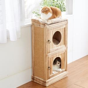 扉付きBOX【ペット用品】(ペット用品猫おもちゃ)ペット用品  ペットグッズ  ペットフード  ペット  ペピイ  PEPPY  キャットタワー  猫用/【犬・猫の総合情報サイト『PEPPY(ペピイ)』公式通販】