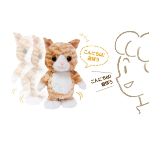 犬・猫の総合情報サイト『PEPPY(ペピイ)』ウォーキングトーキングキティ ミケ
