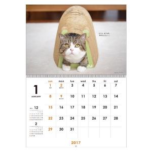 <ペピイ> まるちゃんカレンダー2017 壁掛け画像