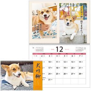 犬川柳カレンダー(月めくり)2020
