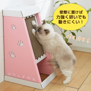 にゃんこ爪とぎタワー (猫専用 ダンボール 爪とぎ)