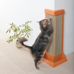 コーナー爪とぎボード (猫用ダンボール製爪とぎ)
