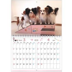 写真で作る うちの子カレンダー2018 ポルカ【インテリア・家具】(インテリア・家具カレンダー)ペット用品  ペットグッズ  ペットフード  ペット  ペピイ  PEPPY  カレンダー  犬用/【犬・猫の総合情報サイト『PEPPY(ペピイ)』公式通販】