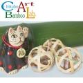 竹芸家が作った猫おもちゃ