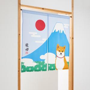 のれん(富士山)